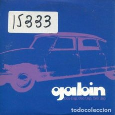 CDs de Música: GABIN / DOO UAP, DOO UAP..- 5 VERSIONES (CD SINGLE CARTON PROMO). Lote 244973820