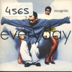 CDs de Música: INCOGNITO / EVERYDAY (CD SINGLE CARTON PROMO 19975. Lote 244977105