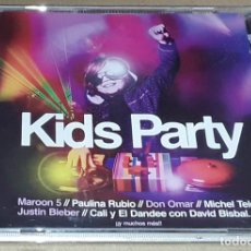 CDs de Música: CD- KIDS PARTY - MANDINGA, XUSO JONES, JESSIE J, S CLUB 7, AQUA, BUSTED, CARLY RAE JEPSEN,DON OMA. Lote 244989300