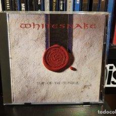 CDs de Música: WHITESNAKE - SLIP OF THE TONGUE. Lote 244994945