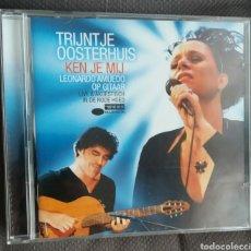 CDs de Música: TRIJNTJE OOSTERHUIS, LEONARDO AMUEDO - KEN JE MIJ. Lote 245055255