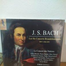 CDs de Música: BACH - SAVALL - BRANDENBURGO - SACD. Lote 245072065