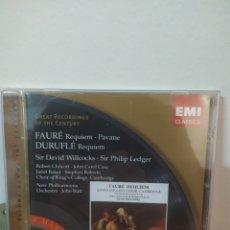 CDs de Música: FAURÉ - REQUIEM. Lote 245074545