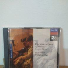 CDs de Música: RACHMANINOV - PRELUDES - ASHKENAZY. Lote 245075700