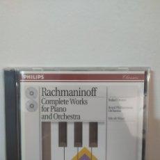 CDs de Música: RACHMANINOV - OROZCO - PIANO CONCERTOS. Lote 245076035