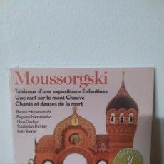 CDs de Música: MUSSORGSKI. Lote 245076355