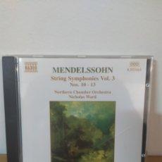 CDs de Música: MENDELSOHN. Lote 245076500