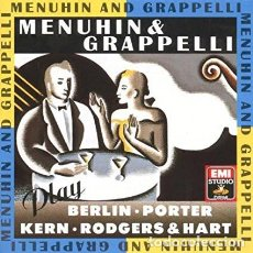 CDs de Música: MENUHIN & GRAPELLI - PLAY BERLIN, PORTER, KERN, RODGERS & HART. Lote 245083230