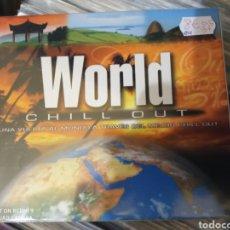 CDs de Música: WORLD CHILL OUT CD + DVD UNA VUELTA AL MUNDO A TRAVÉS DEL MEJOR CHILL OUT. Lote 245083600
