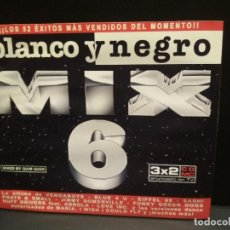 CDs de Música: BLANCO Y NEGRO MIX 6 - DOBLE CD 1999 - ELECTRONICA - TECHNO - HOUSE PEPETO. Lote 245088755