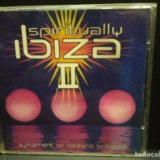 CDs de Música: SPIRITUALLY IBIZA II CD A MOMENT OF BALEARIC BRILLANCE UK FIRM PEPETO. Lote 245090375