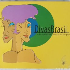 CDs de Música: 2 CD DIVAS BRASIL (A FINE SELECTION OF BRAZILIAN SINGERS). BRASIL, BOSSA NOVA, SAMBA. Lote 245096210