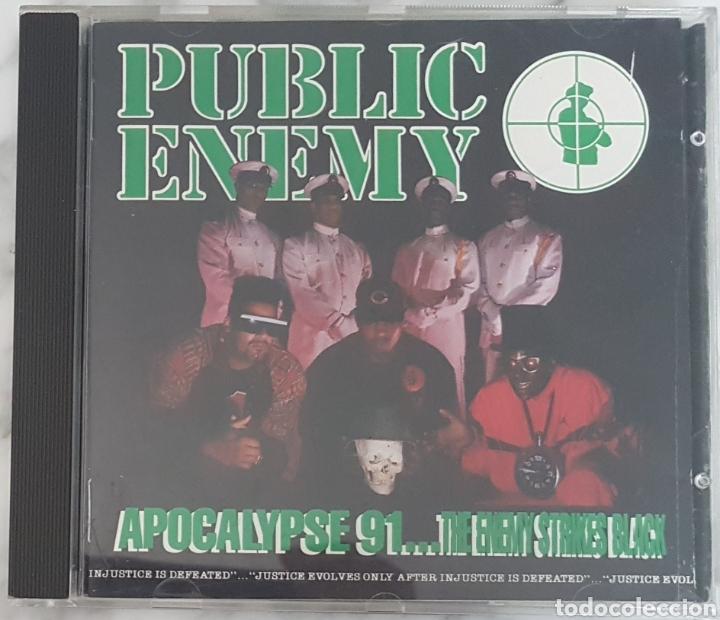 CD PUBLIC ENEMY - APOCALYPSE 91...EDICIÓN ESPAÑOLA! HIP HOP RAP (Música - CD's Hip hop)