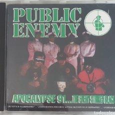 CDs de Música: CD PUBLIC ENEMY - APOCALYPSE 91...EDICIÓN ESPAÑOLA! HIP HOP RAP. Lote 245096795