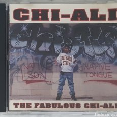 CDs de Música: CD CHI-ALI - THE FABULOUS CHI-ALI (HIP HOP, NATIVE TONGUES). Lote 245097505
