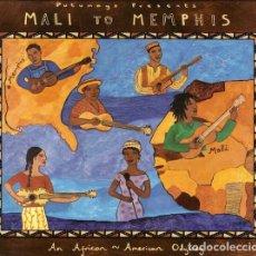 CDs de Música: JOHN LEE HOOKER, TAJ MAHAL Y OTROS - MALI TO MEMPHIS. Lote 245099645
