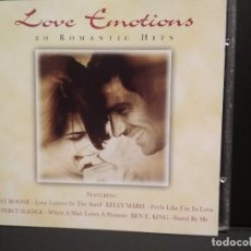 CDs de Música: LOVE EMOTIONS 20 ROMANTIC HITS 1998 CD ALBUM PEPETO. Lote 245109355
