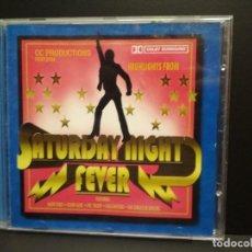 CDs de Música: SATURDAY NIGHT FEVER FEATURING CD ALBUM CEDAR UK PEPETO. Lote 245112965