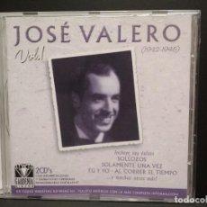 CDs de Música: JOSE VALERO - VOL 1 - DOBLE CD GARDENIA DISCOS 2002 PEPETO. Lote 245116560