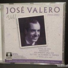 CDs de Música: JOSE VALERO - VOL 1 - DOBLE CD GARDENIA DISCOS 2002 PEPETO. Lote 245117795