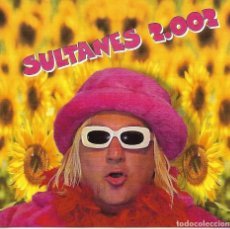 CDs de Música: SULTANES 2002 - SULTANES CD 4 TEMAS RARO EN CAJA CD NORMAL. Lote 245127170