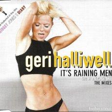 CDs de Música: GERI HALLIWELL - IT'S RAINING MEN CD SINGLE 4 TEMAS 2001 BSO BRIDGET JONES DIARY. Lote 245128235