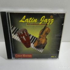 CDs de Música: DISCO CD. CUBAN MASTERS - LATIN JAZZ COLLECTION. COMPACT DISC.. Lote 245157135
