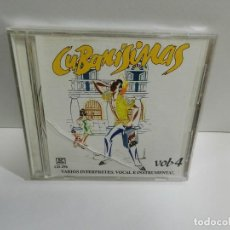 CDs de Música: DISCO CD. CUBANÍSIMAS VOL. 4. COMPACT DISC.. Lote 245157235