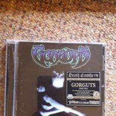 CDs de Música: GORGUTS , OBSCURA , CD BLACK DISC 2015 UK , PERFECTO ESTADO, DEATH METAL. Lote 245160515