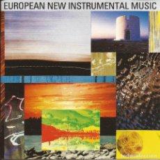 CDs de Música: CD - 1989 - VARIOS - EUROPEAN NEW INSTRUMENTAL MUSIC - 2 CD. Lote 245161690