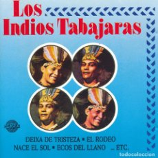 CDs de Música: CD - 1989 - LOS INDIOS TABAJARAS - LOS INDIOS TABAJARAS - 1 CD. Lote 245162835