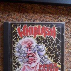 CDs de Música: WHIPLASH , POWER AND PAIN , CD 2015 RUSIA NO OFICIAL , PERFECTO ESTADO, SPEED - TRASH METAL. Lote 245162965