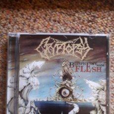 CDs de Música: CRYPTOPSY , BLASPHEMY MADE FLESH , CD 2020 RUSIA NO OFICIAL, ESTADO IMPECABLE, DEATH METAL. Lote 245164145