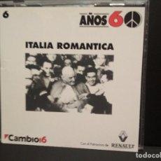 CDs de Música: CD, COLECCIÓN AÑOS 60, 6, ITALIA ROMÁNTICA PEPETO. Lote 245183975