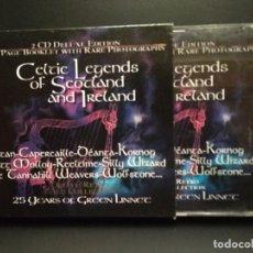 CDs de Música: CELTIC LEGENDS OF SCOTLAND AND IRELAND DOBLE CD PEPETO. Lote 245186105
