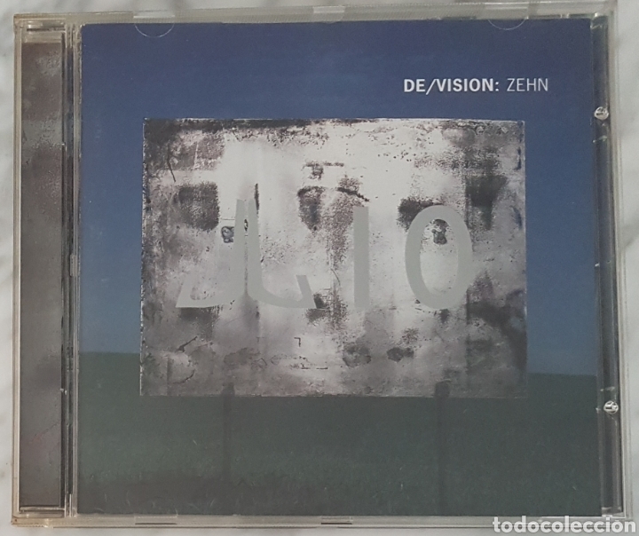 CD DE/VISION - ZEHN. RECOPILATORIO +RAREZAS CONCIERTO (Música - CD's Techno)