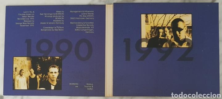 CDs de Música: CD DE/VISION - ANTIQUITY UNRELEASED TRACKS 90-92. RAREZAS. SYNTH POP, TECNO POP - Foto 2 - 245189975