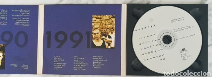 CDs de Música: CD DE/VISION - ANTIQUITY UNRELEASED TRACKS 90-92. RAREZAS. SYNTH POP, TECNO POP - Foto 3 - 245189975