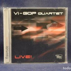 CDs de Música: VI-GOP QUARTET - LIVE! - CD. Lote 245193125