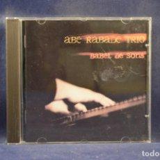 CDs de Música: ABE RÁBADE TRÍO - BABEL DE SONS - CD. Lote 245193510