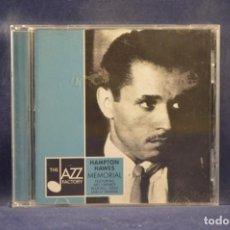 CDs de Música: HAMPTON HAWES - MEMORIAL - CD. Lote 245193750