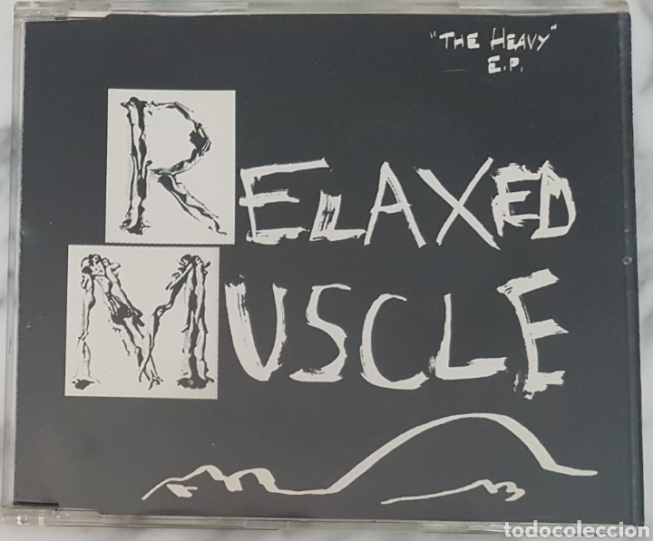 CD RELAXED MUSCLE - THE HEAVY EP. ELECTRONICA, INDUSTRIAL, SINIESTRO (Música - CD's Techno)