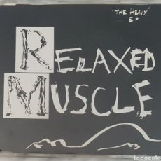 CDs de Música: CD RELAXED MUSCLE - THE HEAVY EP. ELECTRONICA, INDUSTRIAL, SINIESTRO. Lote 245193910