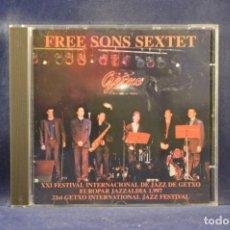 CDs de Música: FREE SONS SEXTET - XXI FESTIVAL INTERNACIONAL DE JAZZ DE GETXO, EUROPAR JAZZALDIA 1997 - CD. Lote 245195655