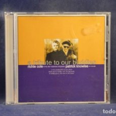 CDs de Música: RICHIE COLE, PATRICK KNOWLES - A TRIBUTE TO OUR BUDDIES - CD. Lote 245196575