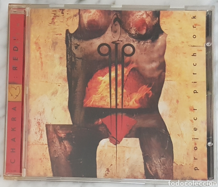 CD PROJECT PITCHFORK - CHAKRA : RED !. INDUSTRIAL, SYNTH POP (Música - CD's Techno)