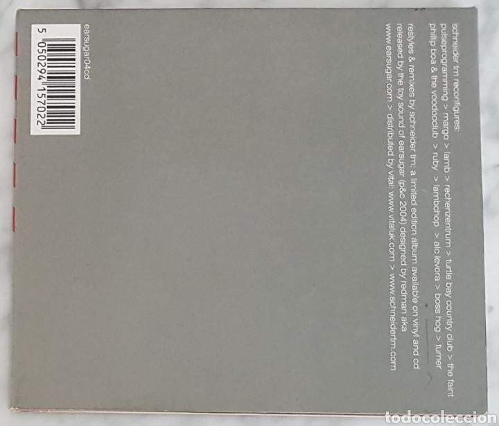 CDs de Música: CD SCHNEIDER TM - RECONFIGURES. ELECTRONICA, IDM - Foto 2 - 245199390