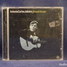 CDs de Música: ANTONIO CARLOS JOBIM - ANTONIO CARLOS JOBIM'S FINEST HOUR - CD. Lote 245202005