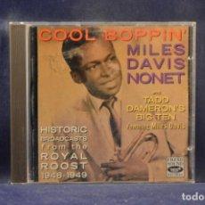 CDs de Música: MILES DAVIS NONET, TADD DAMERON'S BIG TEN FEATURING MILES DAVIS - COOL BOPPIN' - CD. Lote 245203180