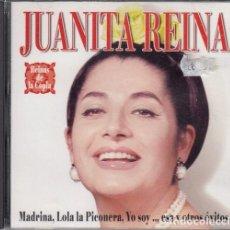 CDs de Música: JUANITA REINA - REINAS DE LA COPLA - CD IMPECABLE. Lote 245209190